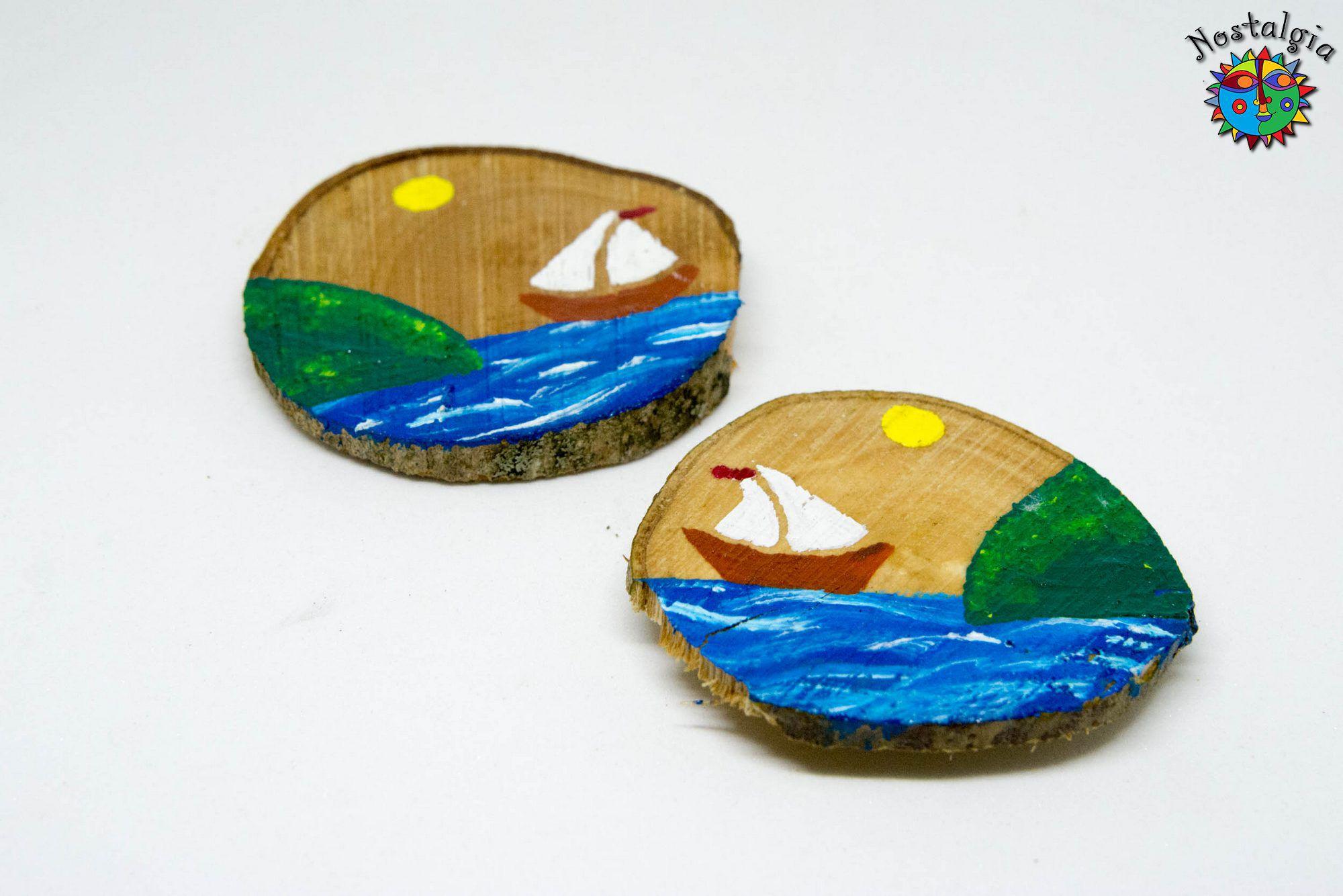 Καραβάκι με νησί