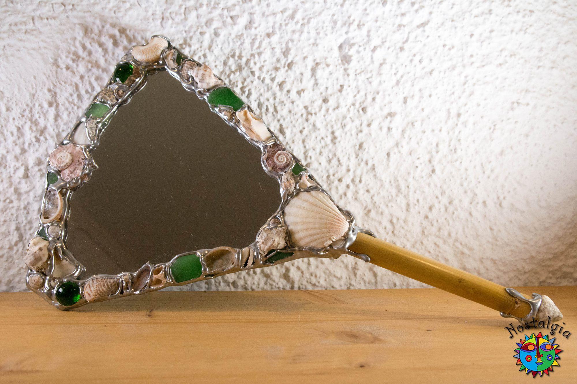 Καθρέφτης χειρός Πράσινος