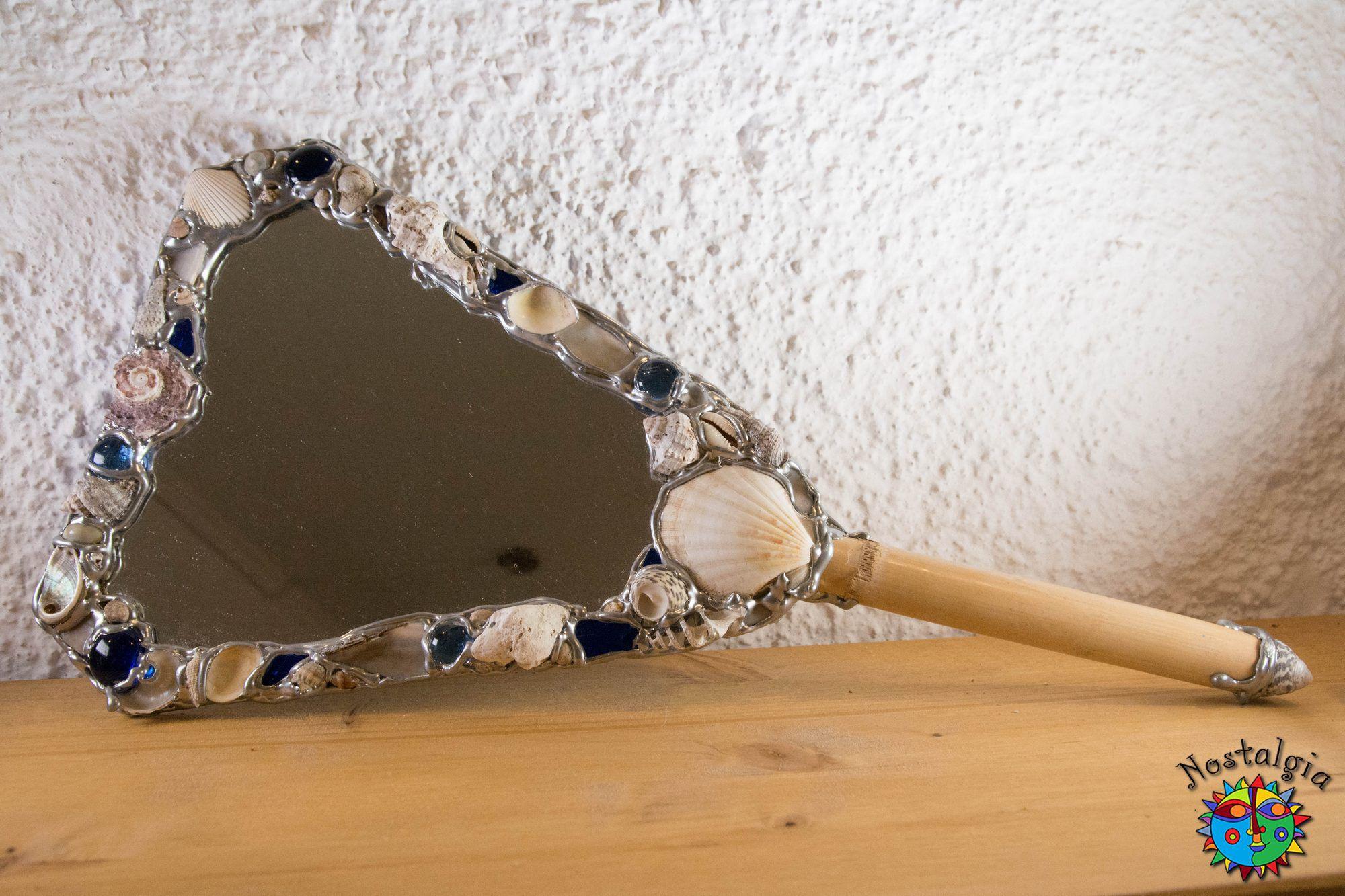 Καθρέφτης χειρός Μπλε