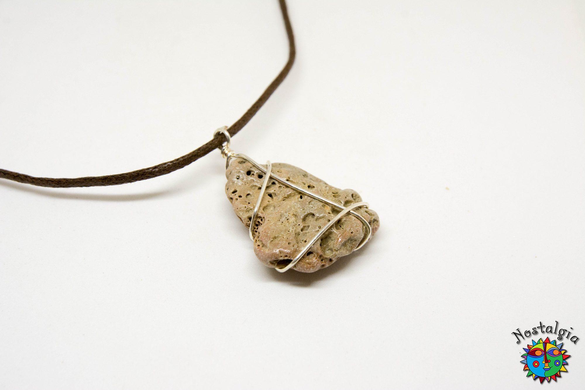 Κολιέ με πέτρα